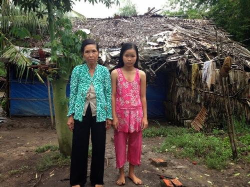 Image result for nhà rách nát